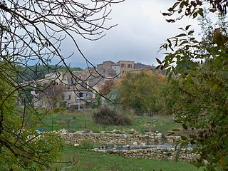Céreste Commune in Provence-Alpes-Côte dAzur, France