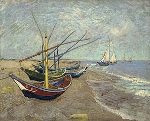 Barques aux Saintes-Maries