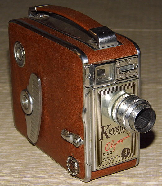 Keystone 8mm movie camera / Shinola watch quality