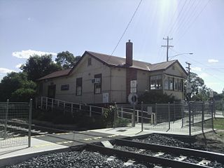 Violet Town railway station