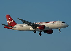 "Virgin America A320 N839VA ""myles from connemara"" (7571912508).jpg"