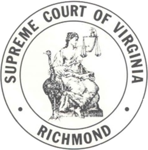 Supreme Court of Virginia - Image: Virginia supreme court seal