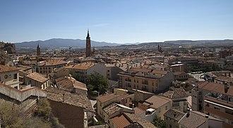 Calatayud - Image: Vista de Calatayud desde la iglesia de La Peña, España, 2012 08 24, DD 01