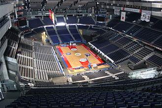 Real Madrid Baloncesto - Image: Vista del Palacio de los Deportes