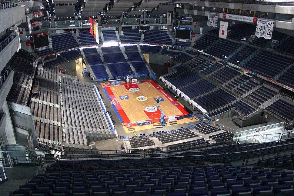 Vista del Palacio de los Deportes