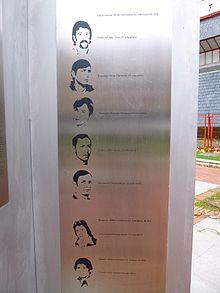 Vitoria - Plaza Tres de Marzo, memorial de las víctimas del 3 de marzo de 1976 3.jpg