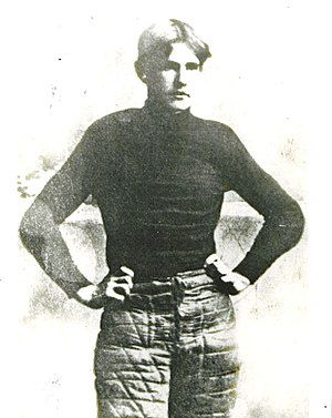 Reynolds Tichenor - Tichenor was quarterback when Richard Von Albade Gammon (pictured) died.