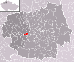 Location of Vrbičany