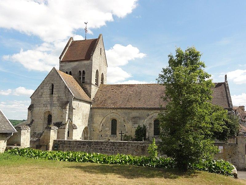Vregny (Aisne) église