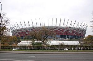 Kota Warsaw dan Stadion National Stadium