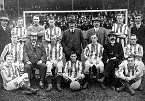 1912 FA Cup Final - The West Bromwich Albion team that played in the 1912 FA Cup Final.