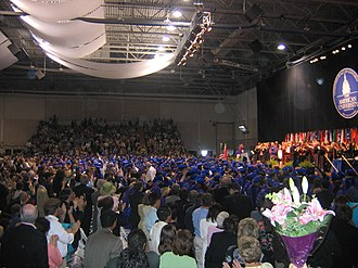 Bender Arena - Image: WCL Graduation