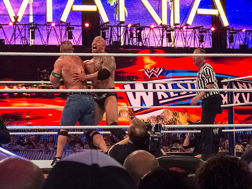 WWE Wrestlemania 28 - The Rock's Rock Bottom