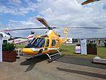 Wagners (VH-WJY) AgustaWestland AW119Kx on display at the 2015 Australian International Airshow.jpg