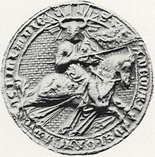 Waldemar of Sweden (1280s) seal 1905.jpg