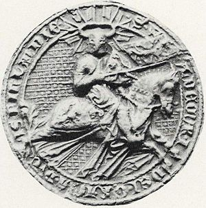 Valdemar, Duke of Finland - Seal of Duke Valdemar of Finland
