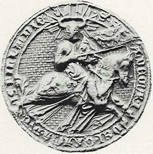 Nyköping Banquet - Duke Waldemar's seal