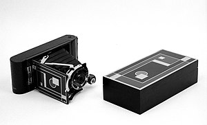 Walter Dorwin Teague - Camera, No. 1A Gift Kodak, ca.1930 Brooklyn Museum