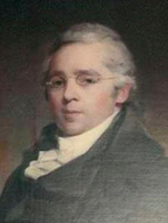 Walter Franklin (judge) - Portrait, 1810, by Thomas Sully