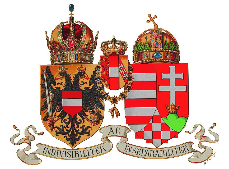 Wappen %C3%96sterreich-Ungarn 1916 (Klein)