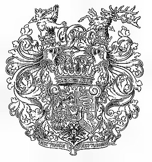 Kálnoky family - Image: Wappen der Grafen Kálnoky von Koröspatak