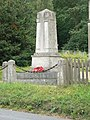 War Memorial, St Lukes Church Chiddingstone Causeway - geograph.org.uk - 298413.jpg