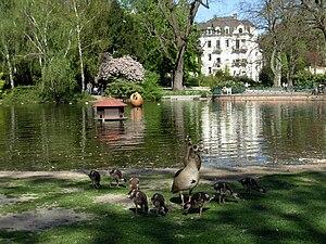 Wiesbaden-Nordost - Warmer Damm park in Nordost
