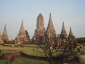 Thammathibet - Der Wat Chai Watthanaram, in dem die Überreste von Thammathibet liegen