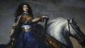 Web, Kungssalen. Ryttarporträtt, Karl XI, detalj - Skoklosters slott - 88025.tif