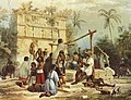 Well and Building at Sabactsche Yucatan by F Catherwood.jpg