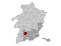 Wellen Limburg Belgium Map.png