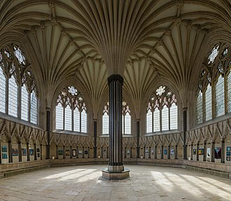 14th century in architecture - Wells Cathedral chapter house