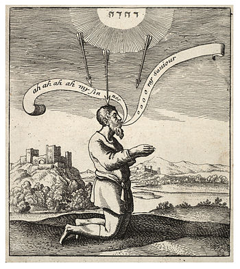 Wenceslas Hollar - The kneeling sinner