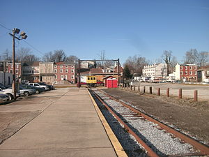 West Chester station (West Chester Railroad) - West Chester station in 2013