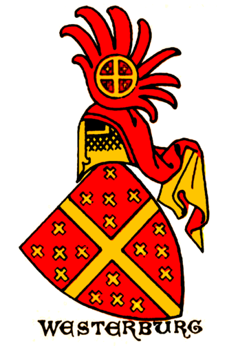 Barony of Westerburg - Family coat of arms of the lords of Westerburg