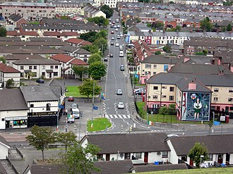 Bogside - Image: Westland From Wall