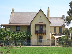 Westmead, New South Wales - Image: Westmead Deskford House 1