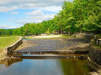 Whipple Dam State Park - Image: Whipple Dam Dam