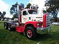 White 2300 prime mover on display at the Riverina Truck Show and Kids Convoy held at Lake Albert.jpg