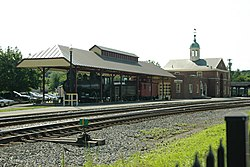 White River Junction railroad station
