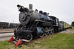 Wichita Falls Railroad Museum October 2015 04 (Fort Worth & Denver ALCO 2-8-0 No. 304).jpg