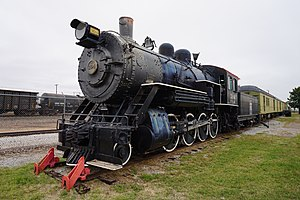 Fort Worth and Denver Railway - Image: Wichita Falls Railroad Museum October 2015 04 (Fort Worth & Denver ALCO 2 8 0 No. 304)
