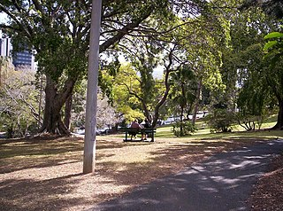 Wickham Park, Brisbane Park in Brisbane, Australia