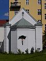 Wien 23 - Promenadenweg - Kollegskapelle des Jesuitenkollegs Kalksburg mit Kruzifix.jpg