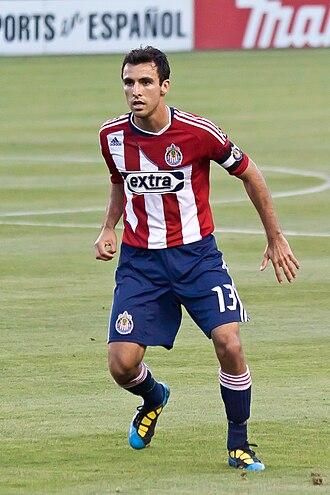 Jonathan Bornstein - Bornstein with Chivas USA in 2010