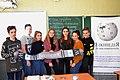 Wikimarathon 2020 in Sievierodonetsk (Secondary School No.5) 8.jpg