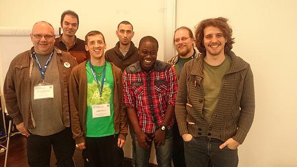 Wikisource user group meet-up.JPG