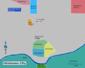 Wikivoyage Oklahoma City district map PNG.png