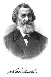 Wilhelm Joseph von Wasielewski, Porträt in dem Buch Aus siebzig Jahren – Lebenserinnerungen (Quelle: Wikimedia)