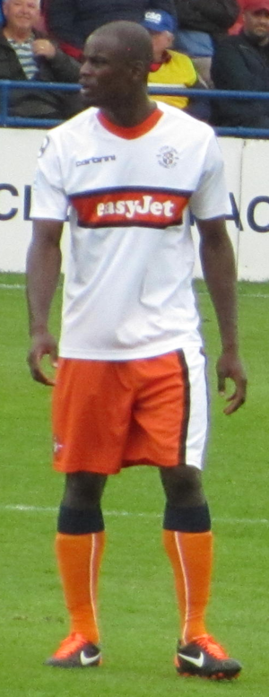 Will Antwi - Antwi playing for Luton Town in 2011